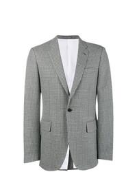 Blazer de lana a cuadros gris de Calvin Klein 205W39nyc