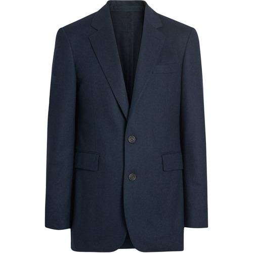 Blazer de lana azul marino de Burberry
