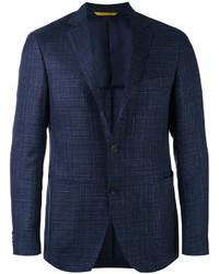 Blazer de lana azul marino de Canali