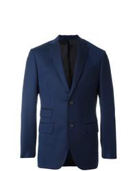 Blazer de lana azul marino de Fashion Clinic Timeless