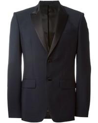 Blazer de lana azul marino de Givenchy