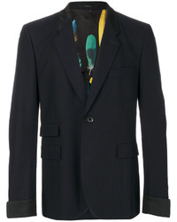 Blazer de Lana Azul Marino de Paul Smith