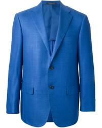 Blazer de Lana Azul de Corneliani