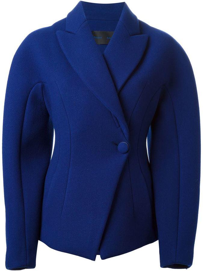 Blazer de lana azul de Proenza Schouler