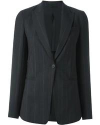 Blazer de lana en gris oscuro de Brunello Cucinelli