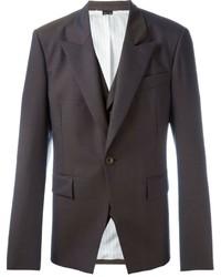 Blazer de lana en marrón oscuro de Vivienne Westwood