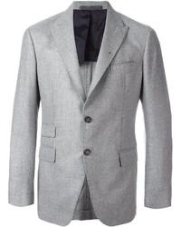 Blazer de lana gris de Eleventy