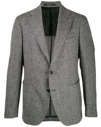 Blazer de lana gris de Tagliatore