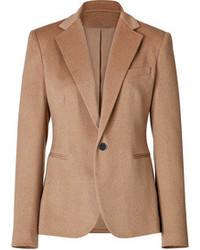Blazer de lana marrón
