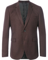 Blazer de lana marrón de Paul Smith