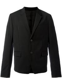 Blazer de lana negro de Diesel Black Gold