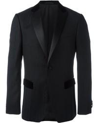 Blazer de lana negro de Ermenegildo Zegna