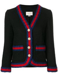 Blazer de lana negro de Gucci