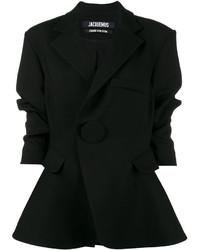 Blazer de lana negro de Jacquemus