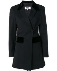 Blazer de lana negro de MM6 MAISON MARGIELA