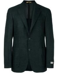 Blazer de lana verde oscuro
