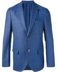 Blazer de Lino Azul de Lardini