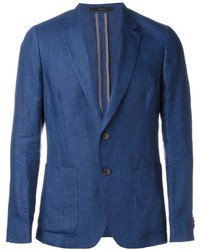Blazer de Lino Azul de Paul Smith