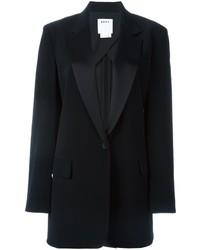 Blazer de Satén Negro de DKNY