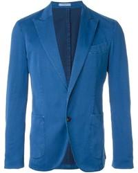 Blazer de seda azul de Boglioli