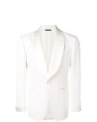 Blazer de seda blanco de Tom Ford