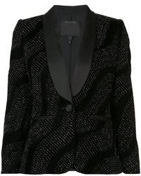 Blazer de seda negro de Marc Jacobs
