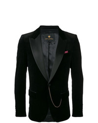 Blazer de terciopelo negro de Lords And Fools