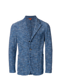 Blazer de Tweed Azul