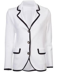 5a649ab52b96a Cómo combinar un blazer en blanco y negro (293 looks de moda)