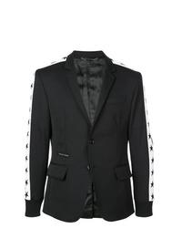 Blazer en negro y blanco de Philipp Plein