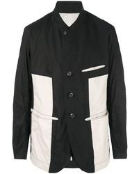 Blazer en negro y blanco de Ziggy Chen