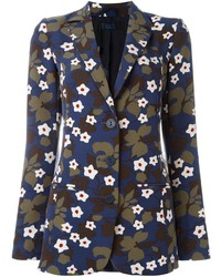 Blazer Estampado Azul Marino de Twin-Set