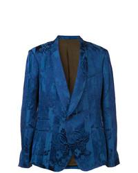 Blazer estampado azul de Haider Ackermann