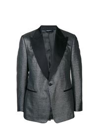 Blazer estampado gris de Dolce & Gabbana