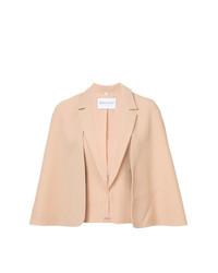 Blazer estilo capa rosado de Vionnet