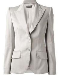 Blazer gris para mujer