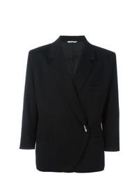 Blazer negro de Versace Vintage