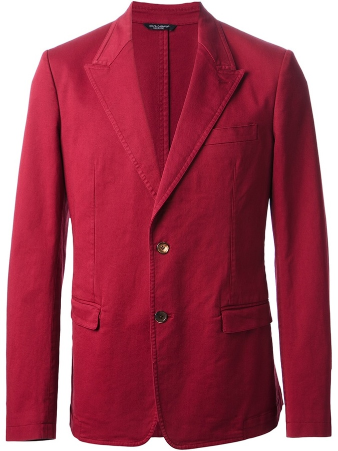 Blazer rosa de Dolce & Gabbana