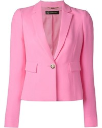 Blazer rosa de Versace