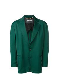 Blazer verde oscuro de Just Cavalli