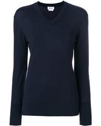 Blusa azul marino de DKNY