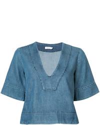 Blusa Azul de A.L.C.