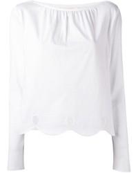 Blusa blanca de See by Chloe