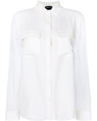 Blusa Blanca de Tom Ford
