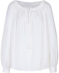 Blusa campesina blanca