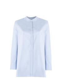 Blusa de botones celeste original 4300099