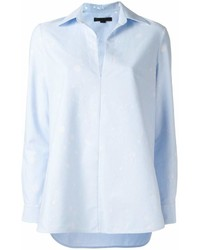 Blusa de botones celeste de Alexander Wang