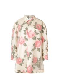 Blusa de botones estampada en multicolor de Maison Margiela
