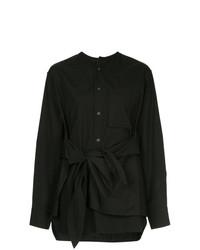 Blusa de botones negra de Y's