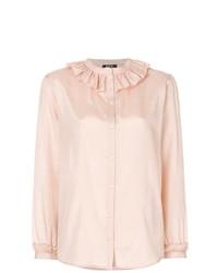 Blusa de botones rosada de A.P.C.